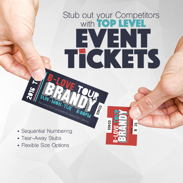 event tickets save4printing